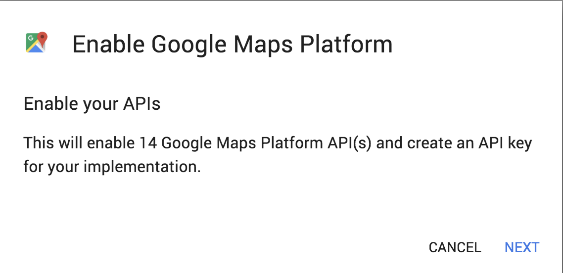 Google Maps Platform Walkthrough Step 9